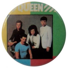 Queen - 'Hot Space Group' Button Badge